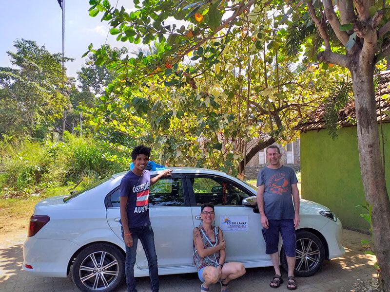 Sri Lanka Urlaub mit Fahrer
